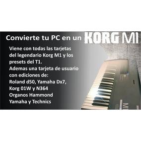 Convierte Tu Pc En Un Korg M1 Con Ediciones.
