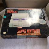 Super Nes Control Set Na Caixa (nintendo Snes 1991/92)