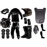 Kit Insane Pro Tork 2014 Equipamento Trilha Motocross Enduro