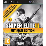 Sniper Elite 3 Ultimate Edition Ps3 Digital