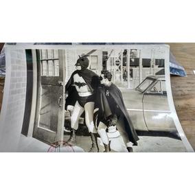 Foto Original Antigua. Película. Batman And Robin.