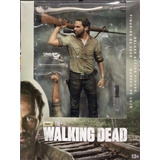 The Walking Dead Rick Grimes 10 Figure Deluxe Mcfarlane