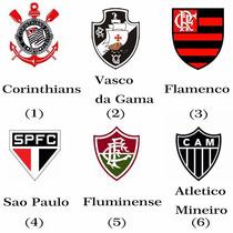 Pendrive Usb 2.0 Times De Futebol 8gb