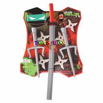 Espada Samurai, Sais(adagas) Ninja Festa Brinquedo Fantasia