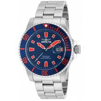 Invicta Hombre 90192 Pro Diver Reloj Acero Inoxidable Azul