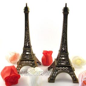 Centros De Mesa Casamientos Bodas Torre Eiffel 18 Cm X 10 U.
