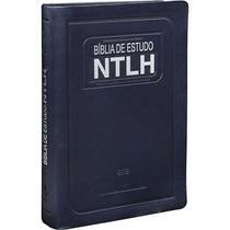 Bíblia De Estudo Ntlh Grande 17x23,5 Linguagem De Hoje