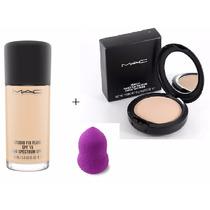 Kit Maquillaje Fix Fluid + Fix Powder Mac **regalo**