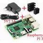 Raspberry Pi 3 Modelo B + Transformador + 2 Disipadores