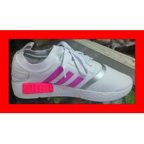Zapatos Adidas Para Dama. Deportivo. Talla 38, Bello