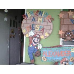 Bienvenidos A Mi Fiesta Mario Bros