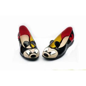 Mickey Mouse Custom Flats