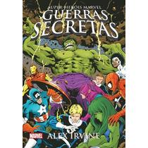 Super-heróis Marvel - Guerras Secretas. (não É Hq.)