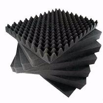80 Placas 16m² Espuma Isolamento Acústico Sonex Caixa De Ovo