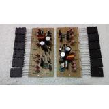 Amplificador 600w + 12 Transistor 2sc5200 2 Placas