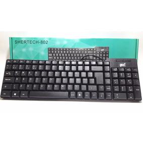 Teclado Computador / Notebook Usb 802 Básico Preto