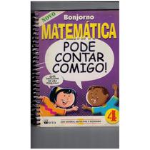 Livro Matemática Pode Contar Comigo 4ª Série