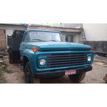 Caminhão Cacamba F600 Motor M.b