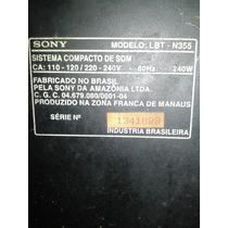 Systen Sony Lbtn355 (sucata)