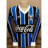Camisa Retrô Grêmio 1988 M/longa - F R E T E . G R Á T I S !