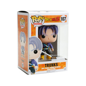 Funko Pop Trunks Dragon Ball Z 107 Importado Original + Nf