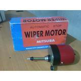 Motor Limpiador 12 V Marca Mitsuba,con Brazo Y Limpiador.