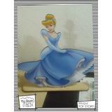Souvenir Aplique Madera 40cm Princesas Disney Cenicienta