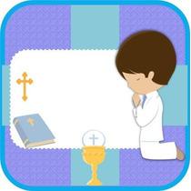 Kit Imprimible 2x1 Primera Comunion Niño Nene Jesus Cristo
