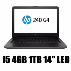 Notebook Hp 240 G4 Intel Core I5-6200u 4gb 1tb Led 14 P7q28l