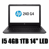 Notebook Hp 240 G4 Intel Core I5-6200u 4gb 1tb Led 14 P7q28l