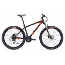 Bicicleta 27.5 Giant Talon 3 Montaña 2017 Ngro C/ Vrde Y Nar