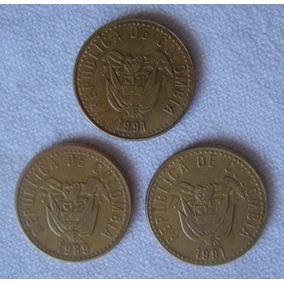 3 Monedas De Colombia 20 Pesos: 1 X
