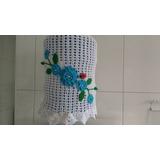 Capa De Galão De Água Em Crochê 20 Litros