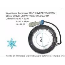 Bobina Magnética Cvc Compressor S10 Blazer 2.4 / 2.5 / 2.8