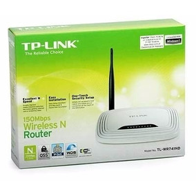 Kit Com 10 Roteadores Wireless N 150mbps Tp-link Tl-wr740n