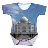Body Bebê Índia Taj Mahal