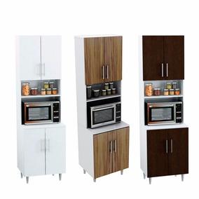 Organizador Porta Microondas Cocina 4 Puertas Kp100 Kp 100
