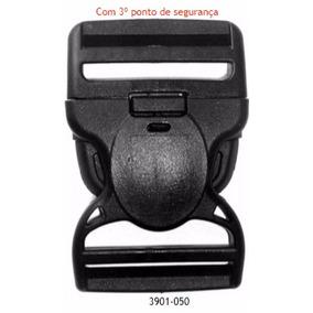 Fivela / Fecho Engate Rápido Com 3 Travas De Segurança 50mm