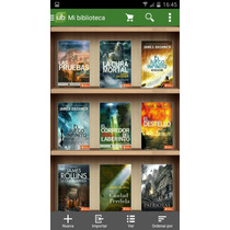 Libros Epub Ebook Sagas Completas! Celular,tablet O Laptop