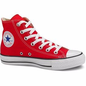 converse all star plataforma rojas mercadolibre