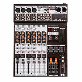 Mesa Analógica Soundcraft Sx 802fx Usb 8 Canais Mixer
