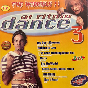 Cd Al Ritmo Dance 3 2cds Eugenio Derbez