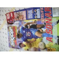 Revista Soccermania 2003 América Vs Cruz Azul Clásico Joven