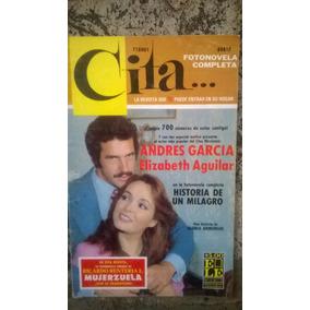 Fotonovela Cita Andres García, Elizabeth Aguilar Año 1980