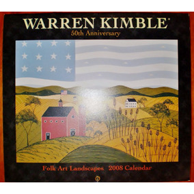 Gravuras Poster Quadros Warren Kimble Folk Art Americana