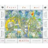 Arte - Roberto Matta - Chile - Hojita Mint (mnh)
