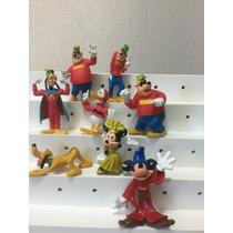 Lote Miniaturas Disney Peninha Irmãos Metralha Super Pateta
