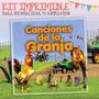 Kit Imprimible Canciones De La Granja - El Mejor Diseño !