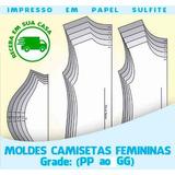 Moldes Baby Look Feminina - Receba Impresso Em Sua Casa