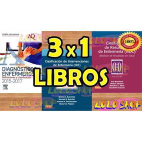Libros Pdf Nanda Nic-noc 2015-2017 Español Paquete 3 Digital